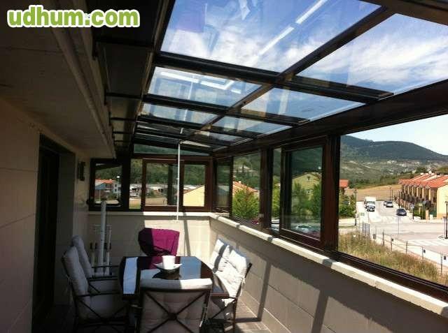 Empresa de carpinter a de aluminio - Techos de aluminio para terrazas ...