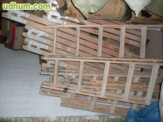 Escaleras de tijera de madera for Escalera tijera de madera