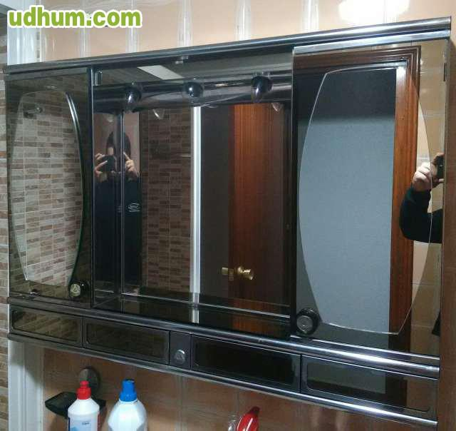 Mueble espejos aseo muy barato for Muebles aseo baratos