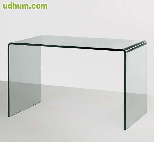 Mesa despacho de cristal - Mesas despacho cristal ...