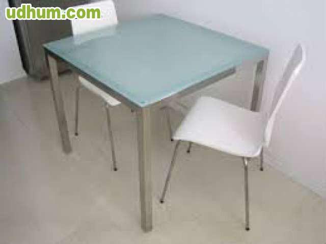 Torsby ikea mesa cuadrada cristal for Mesa cristal templado ikea