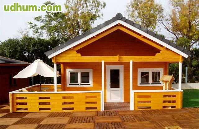 Casa de madera bungalow antares a - Fotos de bungalows de madera ...