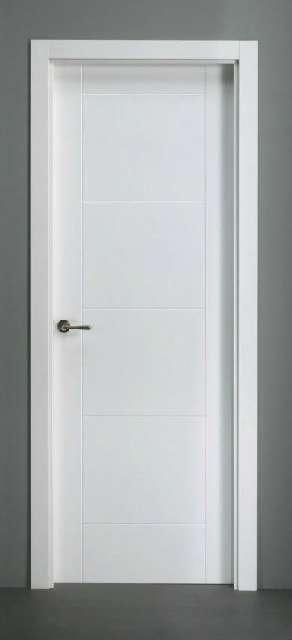 Puertas parquet cocinas for Puertas semi macizas blancas