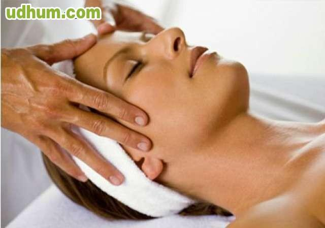 relajante masaje facial