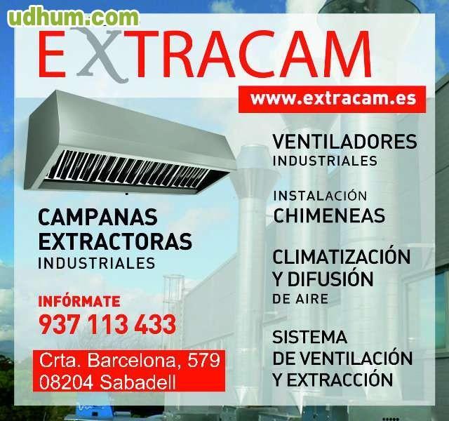 Extraccion de humos campanas extractoras for Campana extractora de humos