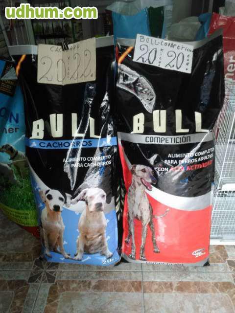 Piensos bull y especial caza - Pienso para perros de caza ...