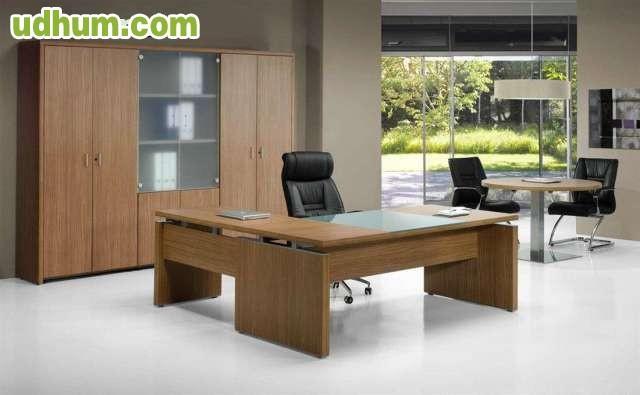 Mesas mobiliario para despachos oficina for Mobiliario para despachos