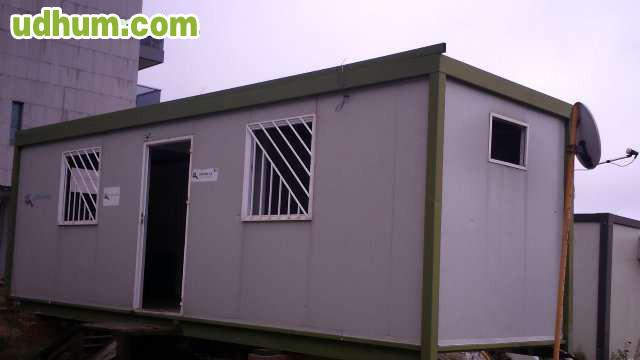 Casetas oficina o vivienda modular 4 d7 for Vendo caseta metalica