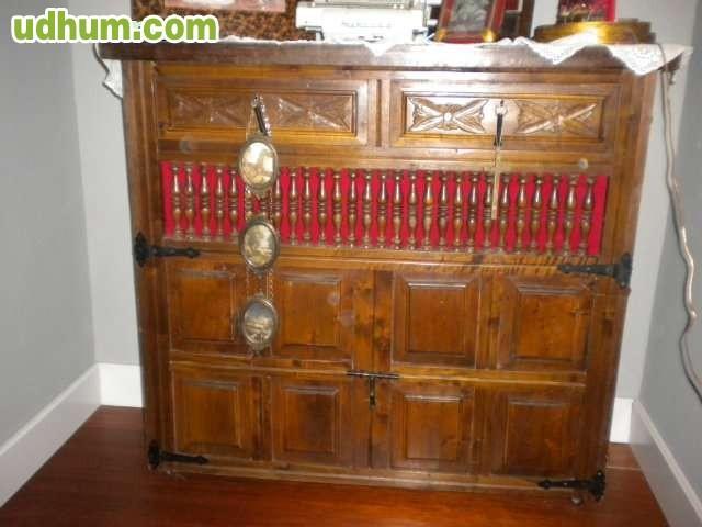 Muebles Antiguos Tallados En Madera : Muebles antiguos tallados