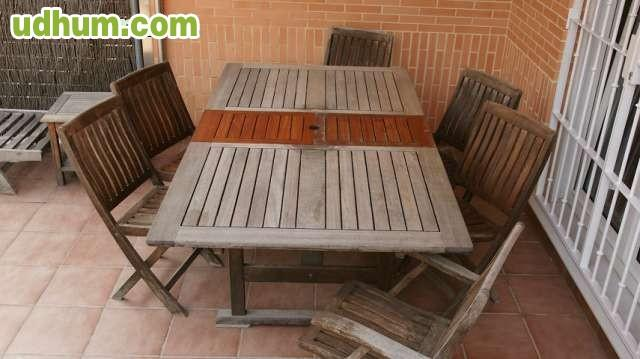 Conjunto muebles terraza 1 for Conjunto terraza