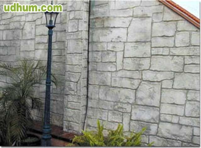 Hormigon impreso fachadas y pulido 1 for Hormigon impreso paredes