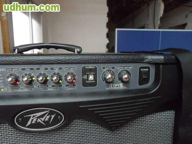 Amplificador peavey vepey 100 w pedale