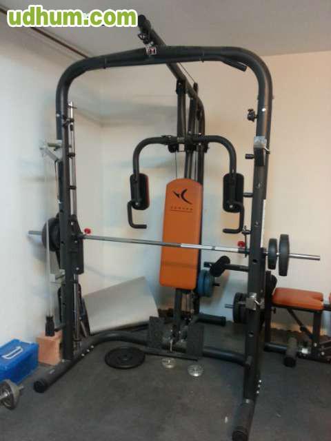 Domyos bm900 maquina de musculacion for Maquinas de musculacion