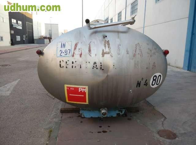 Cisterna para productos alimentarios for Piscina 6500 litros