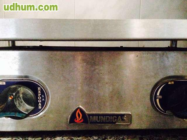 Plancha barbacoa de acero de gas butano 1 for Plancha de gas butano