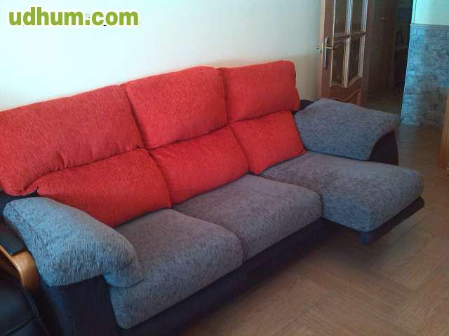 Sofa de 3 plazas extraible y reclinable for Sofas 4 plazas reclinables