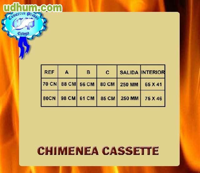 Chimenea cassette con turbina 100cn - Milanuncios chimeneas de hierro ...