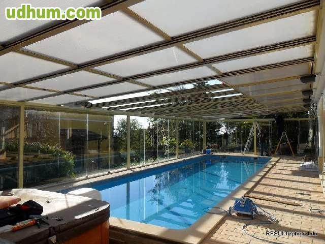 Cubiertas para piscinas 1 for Fotos de piscinas cubiertas