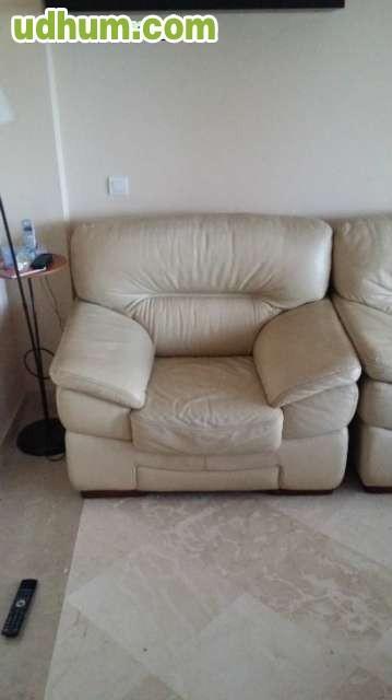 Sof 3 plazas y sill n en piel - Marcas de sofas de piel ...