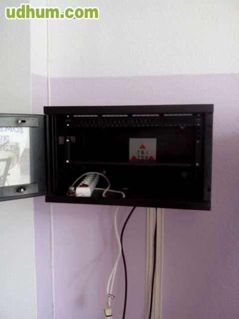 Armario de comunicaciones rack for Mueble zapatero hipercor