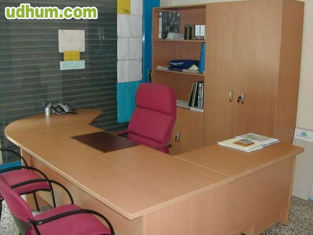 Mobiliario De Oficina Despach Completo