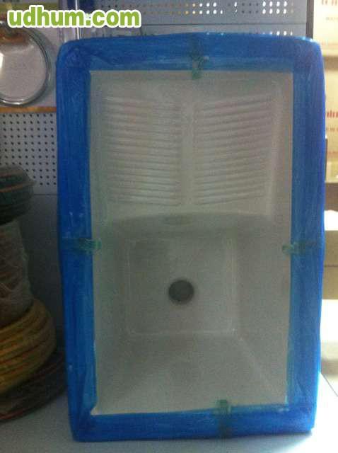 Pila de porcelana para lavadero for Lavadero porcelana