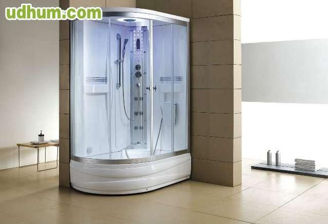 Cabina de hidromasaje ducha con ba era - Ducha con banera ...