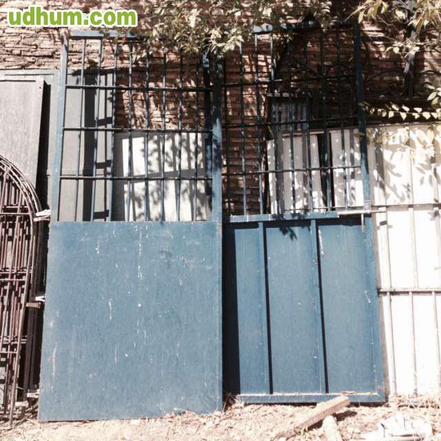Puerta de paso exterior met lica for Puerta metalica exterior