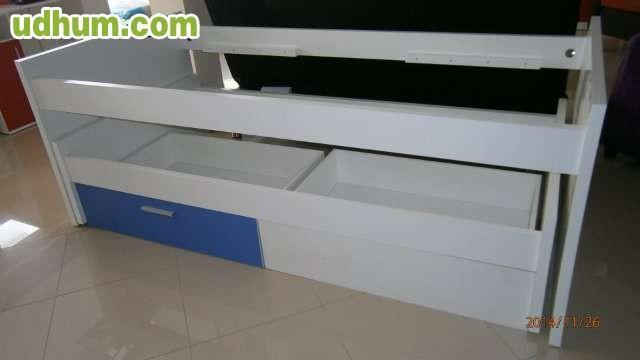 Oferta de cama compacta a 195 for Cama compacta oferta