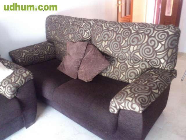 Vendo juego de sof s de 3 y 2 plazas for Vendo sofa cama 2 plazas
