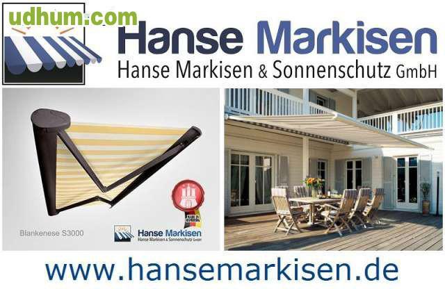 Toldos hanse markisen made in germany Brustor markisen deutschland