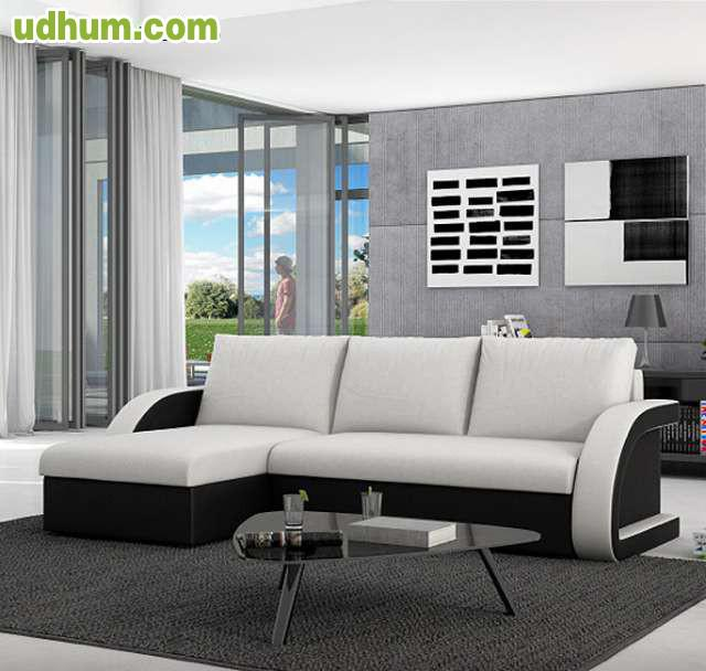 Sof cama modelo kyra con chaise longue for Muebles bonitos