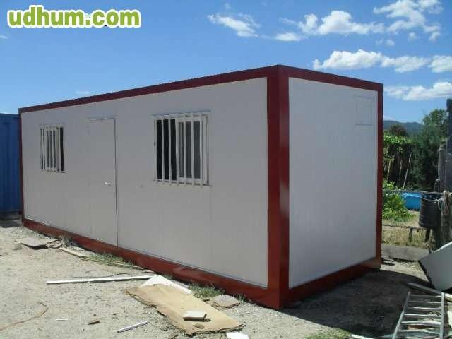 Modulo prefabricado caseta de oficina for Modulos para oficina precios