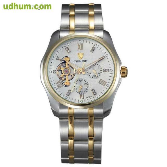 Reloj Automatico Con Tourbillon