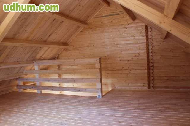 Casa prefabricada de madera de 36 m2 - Casa madera sevilla ...