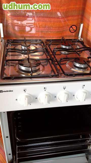 Cocina horno a gas 4 fogones - Fogones de butano ...