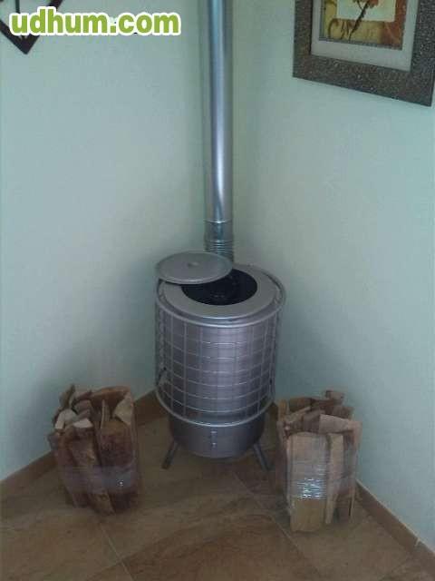Estufas de le a baratas negras y grises for Estufas a lena baratas