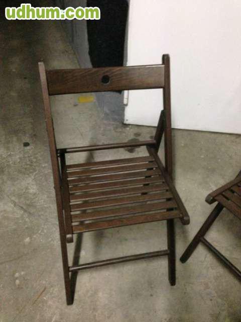 4 sillas madera ikea modelo terje for Sillas de madera ikea