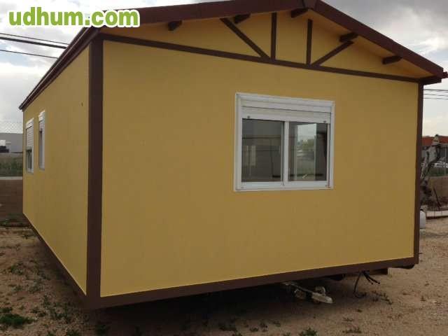 Aitana casa prefabricada 7x4 m 1 hab - Casas prefabricadas con ruedas ...