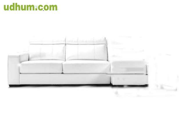 Sof de piel blanco 1 - Sofa piel blanco ...