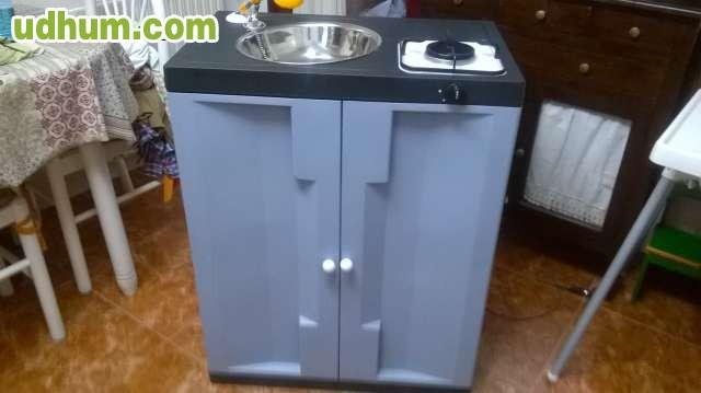 Mueble cocina fregadero ducha12v for Fregadero 80x50