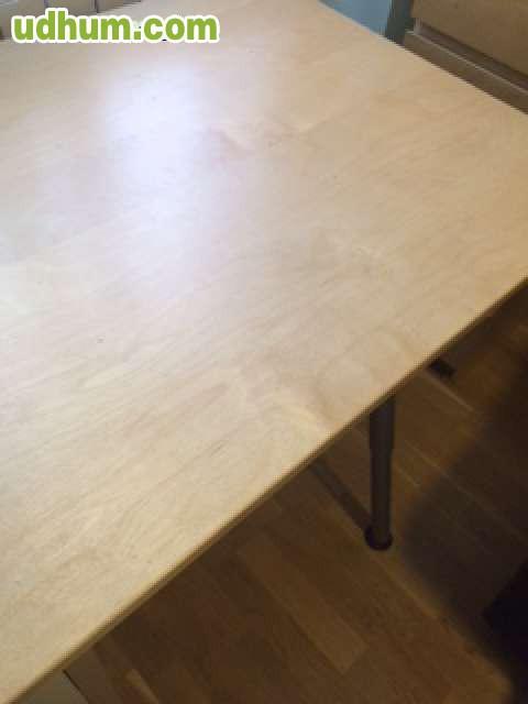 Mesa escritorio galant de ikea concajon for Mesa escritorio con ruedas