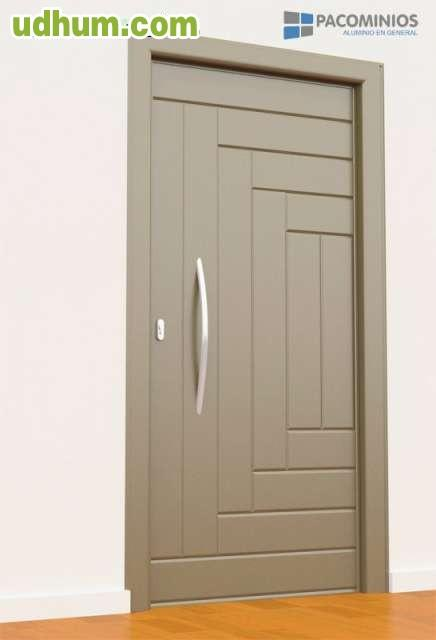 Puertas de calle de aluminio for Puertas de calle de pvc