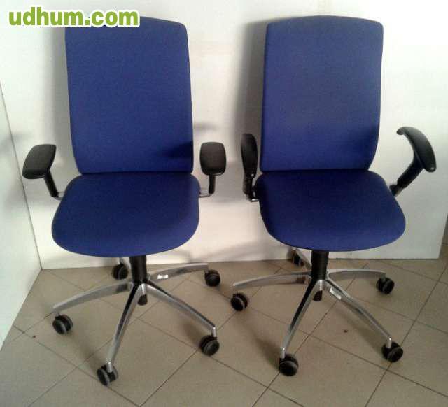 Lote sillas oficina segunda mano madrid for Sillas de oficina madrid