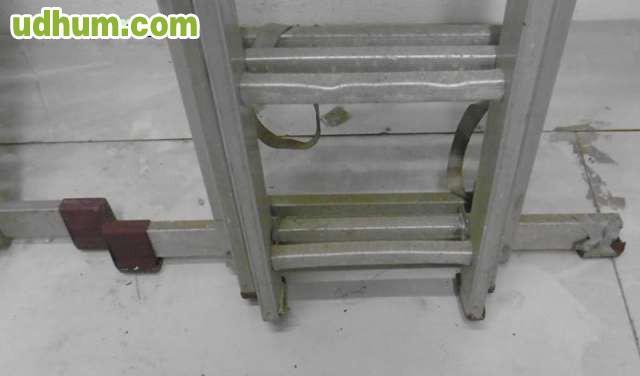 Escalera aluminio 3 tramos de 280 cm for Escaleras de aluminio usadas
