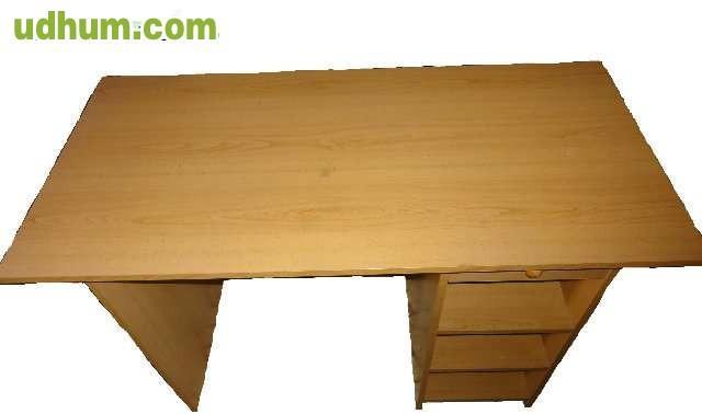 Mesa escritorio 25 for Dimensiones de un escritorio de oficina