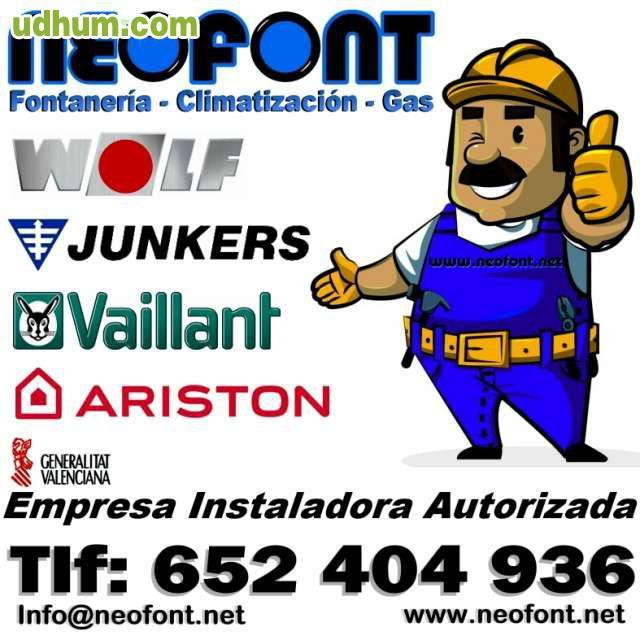 Caldera mixta a gas 699 instalada - Caldera mixta gas ...