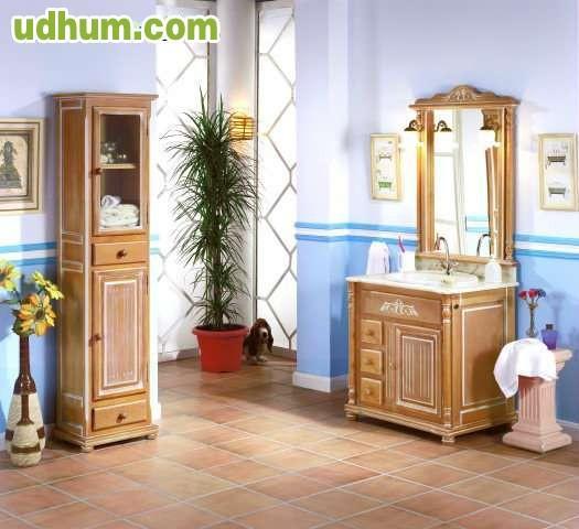 Mueble de ba o en madera pino - Mueble de pino ...