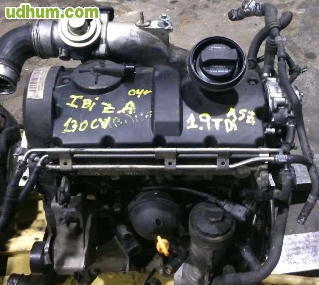 MOTOR COMPLETO 1. 9TDI 130CV ASZ