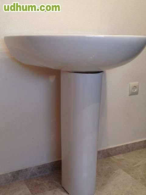 Lavabo pedestal modelo bellavista for Ceramica bellavista